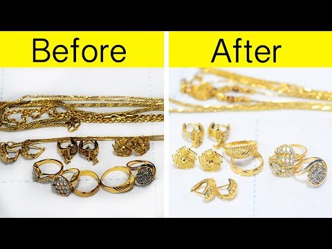 How to clean gold Jewellery at home | आसान तरीका सोना चमकाने का