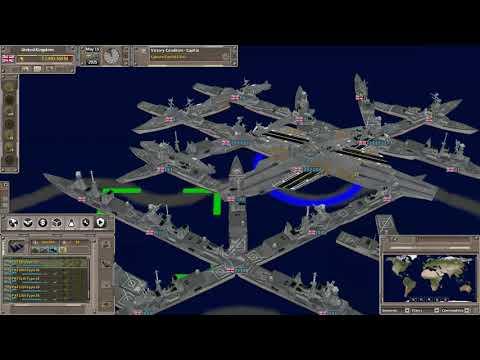 UK VS USA-war Battle for the Atlantic- Supreme Ruler Ultimate Game play  