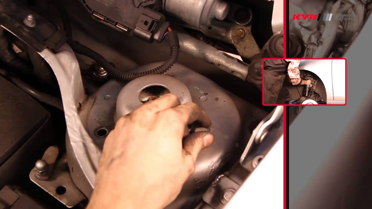 Kyb Audi Seat Skoda Vw Front Youtube Engine Mount Diagram