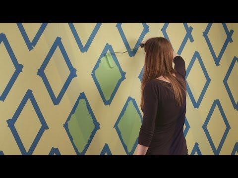 pattern wall paint