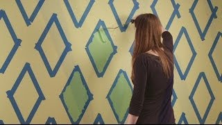 How To Paint Diamonds On Your Walls | Sherwin-williams