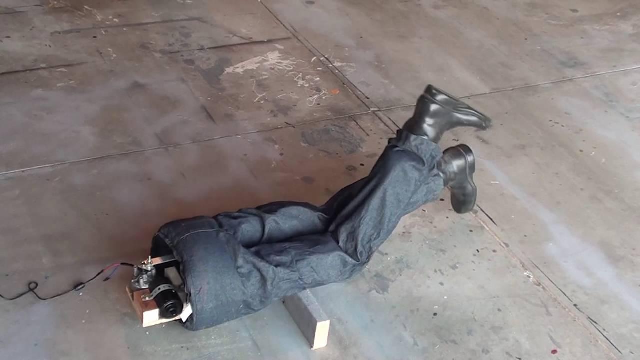kicking legs commercial halloween prop fixhack - Halloween Prop