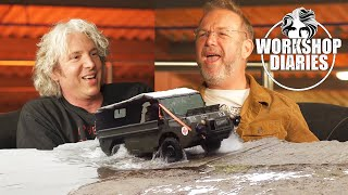 Edd China's Workshop Diaries Episode 7 (Electric Ice Cream Van Part 5 & AskEdd with Danny Hopkins)
