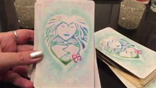Lemurian Starchild Oracle Cards-Close Up Review Plus Bonus Reading! Just ❤️!