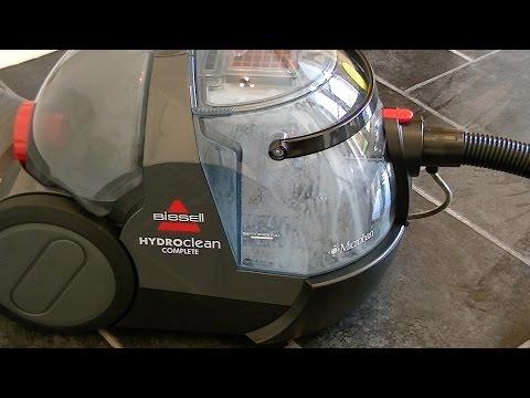 Bissell Hydroclean Complete Hard Floor Washing Demonstration