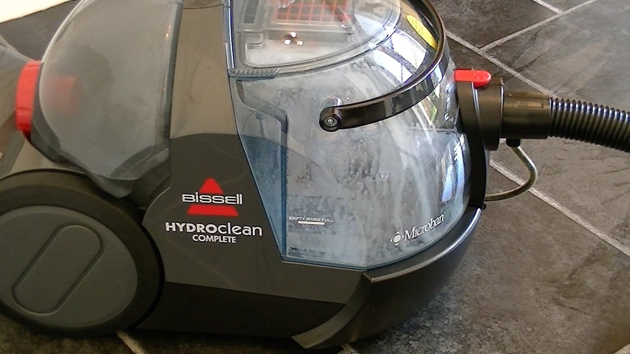 Bissell Hydroclean Complete Hard Floor Washing