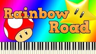 歴代マリオカート8作品のレインボーロードBGMを、ピアノアレンジして...