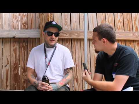 Emmure @ Mayhem Festival 2013 interview with Frankie Palmeri