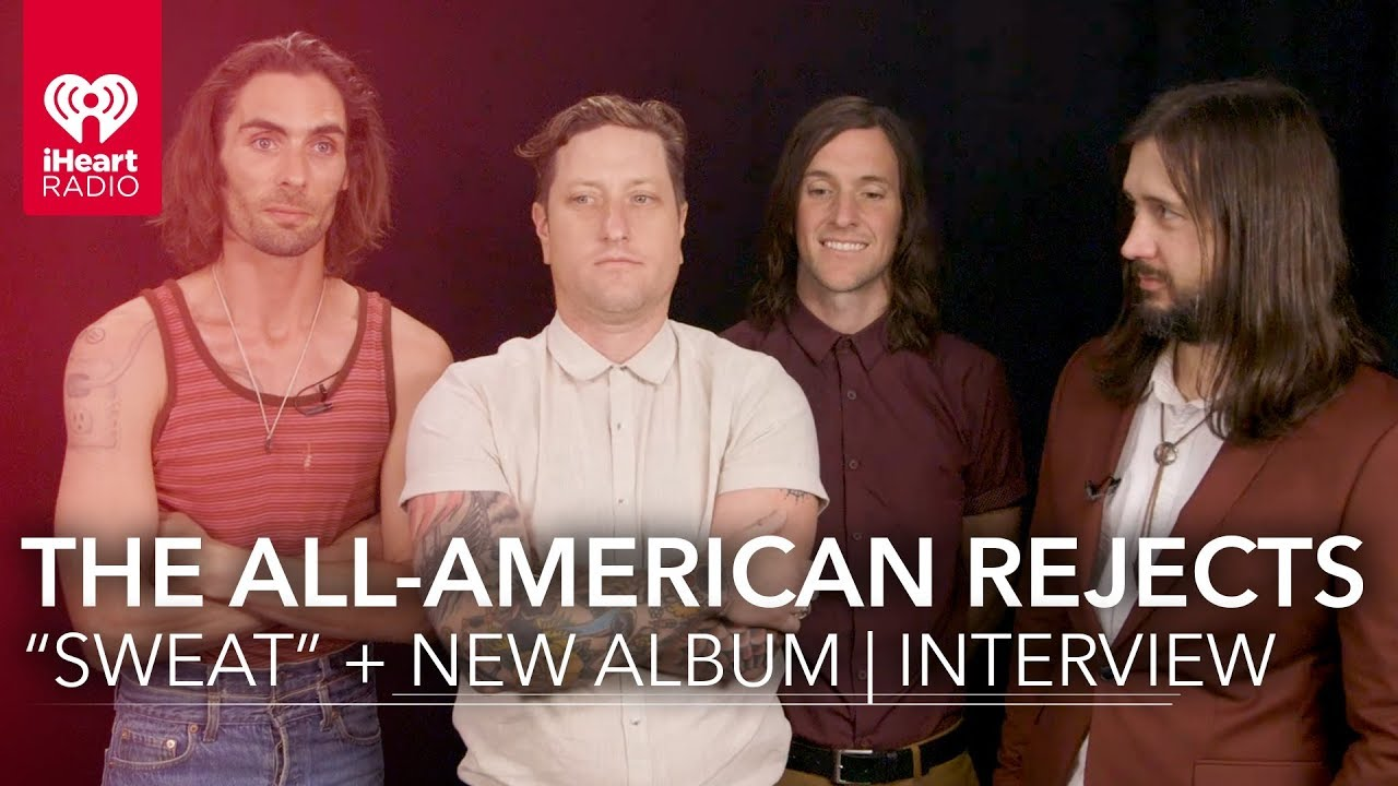 all american rejects sweat new album exclusive interview youtube