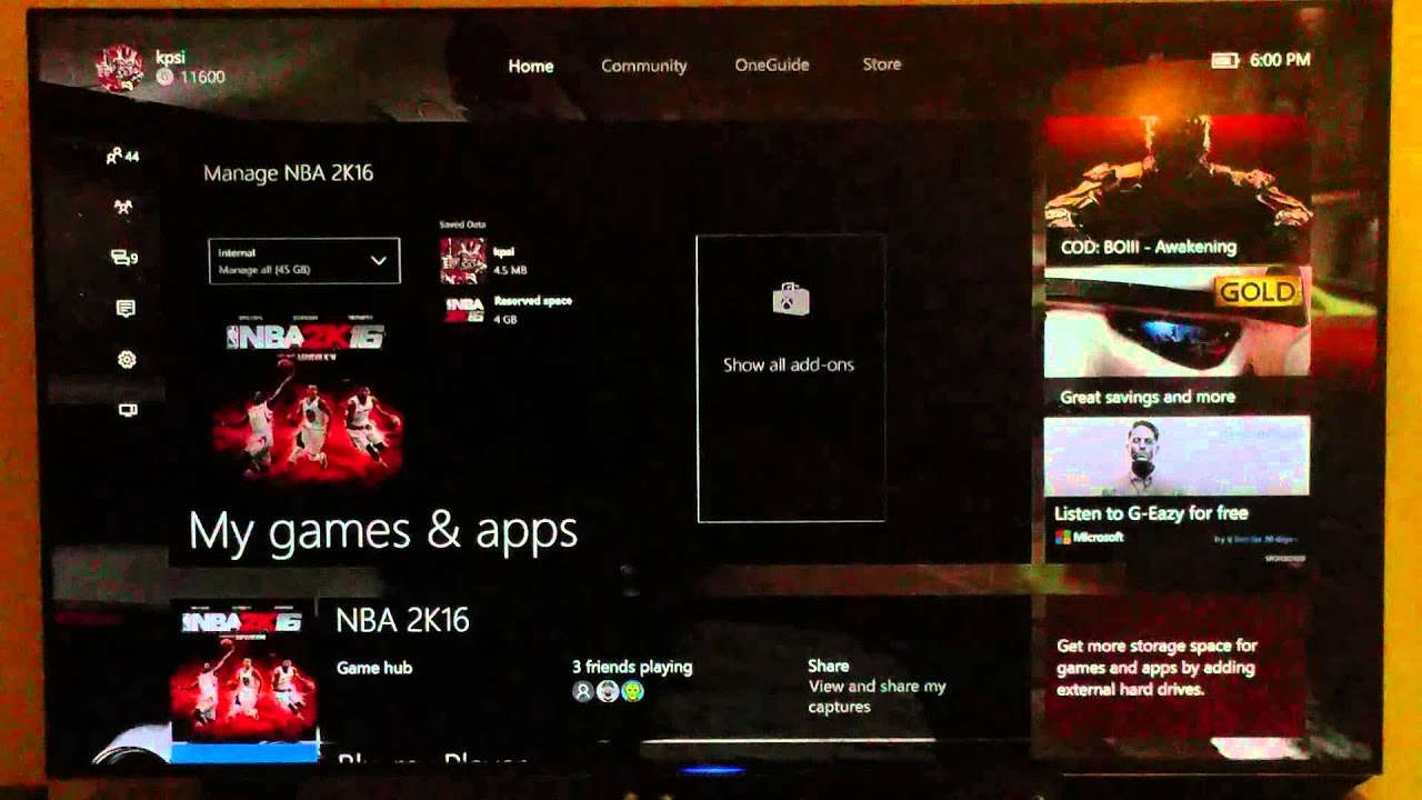 How to fix Xbox One Error 0x8027025a took to long to load  Reserve space  delete