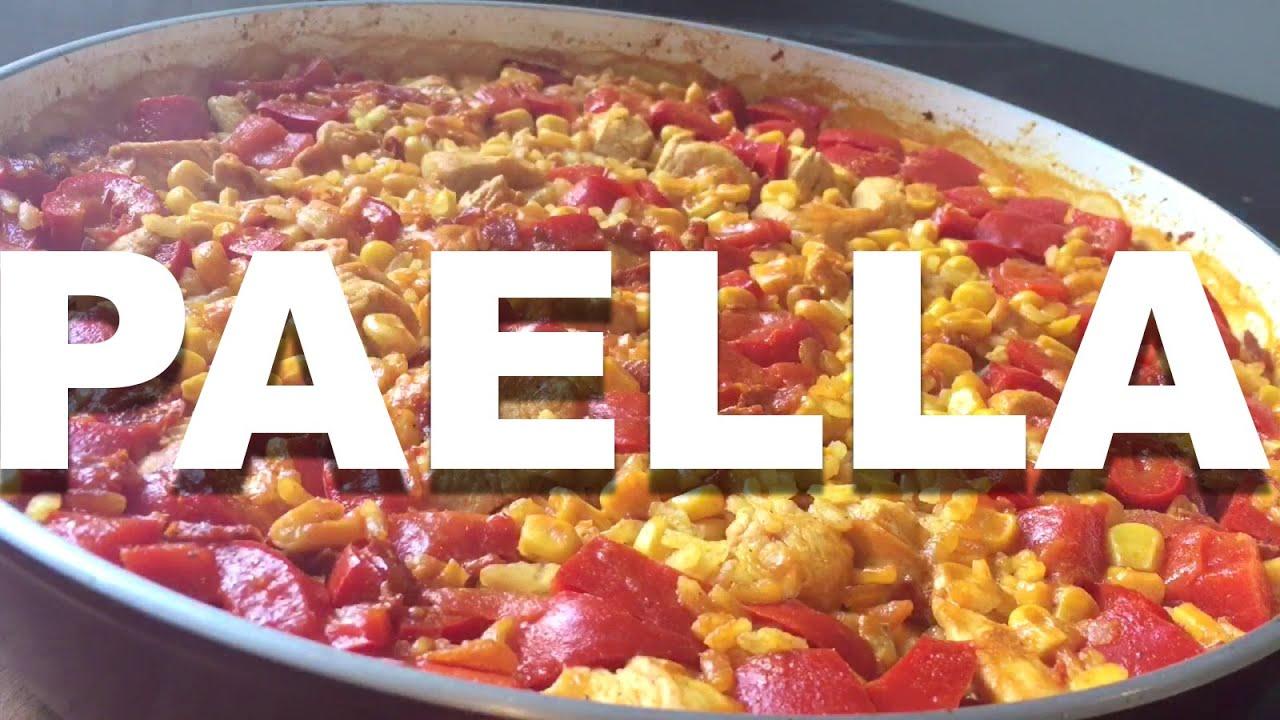 Paella Z Kurczakiem I Chorizo Wwwbellabispl