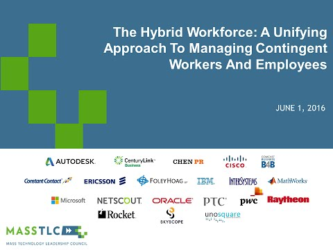 THE HYBRID WORKFORCE: A UNIFYING APPROACH TO MANAGING CONTINGENT WORKERS AND EMPLOYEES