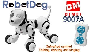 DIMEI 9007A RobotDog, InfraRed control, Talking, Dancing and Singing