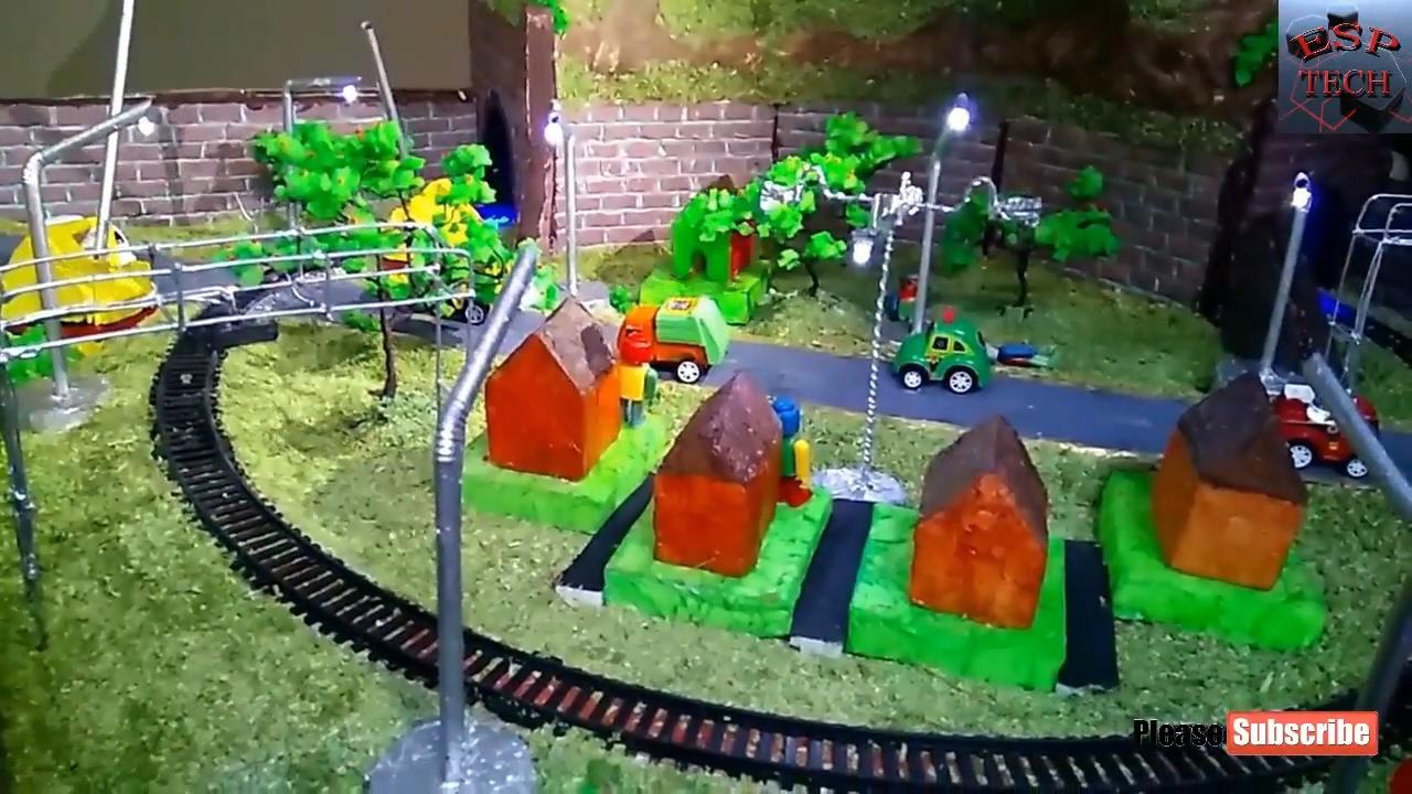 how to make science fair easy rail models railway working