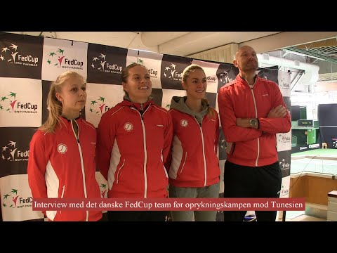 """5 Cool Days in Helsinki, Finland"" Day 5 - interview FedCup Team DK"