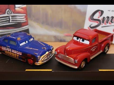 Mattel Disney Cars 3 Heyday Smokey Dirt Track Fabulous Hudson