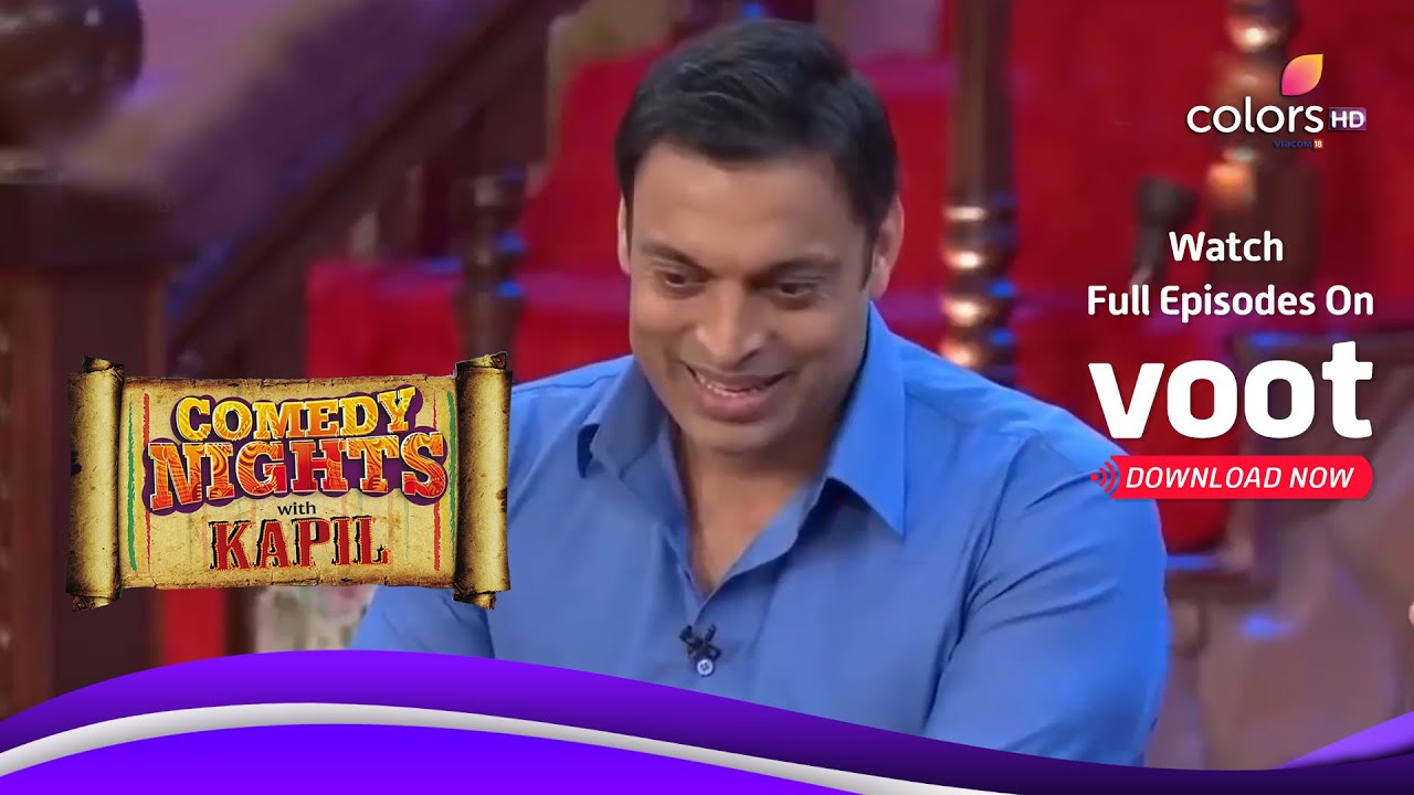 Comedy Nights with Kapil   Karishma Tanna Meets Sohaib-Harbhajan   शोएब-हरभजन से मिली करिश्मा तन्ना