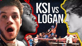 KSI vs. LOGAN PAUL BOKS MAÇINA GİTTİM!