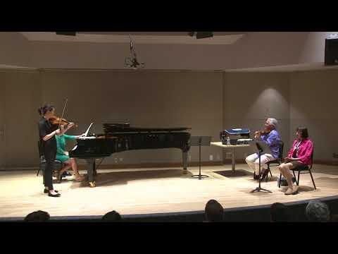 2017 YAP: Zukerman & Kopec violin class | Classe de violon Pinchas Zukerman & Patty Kopec