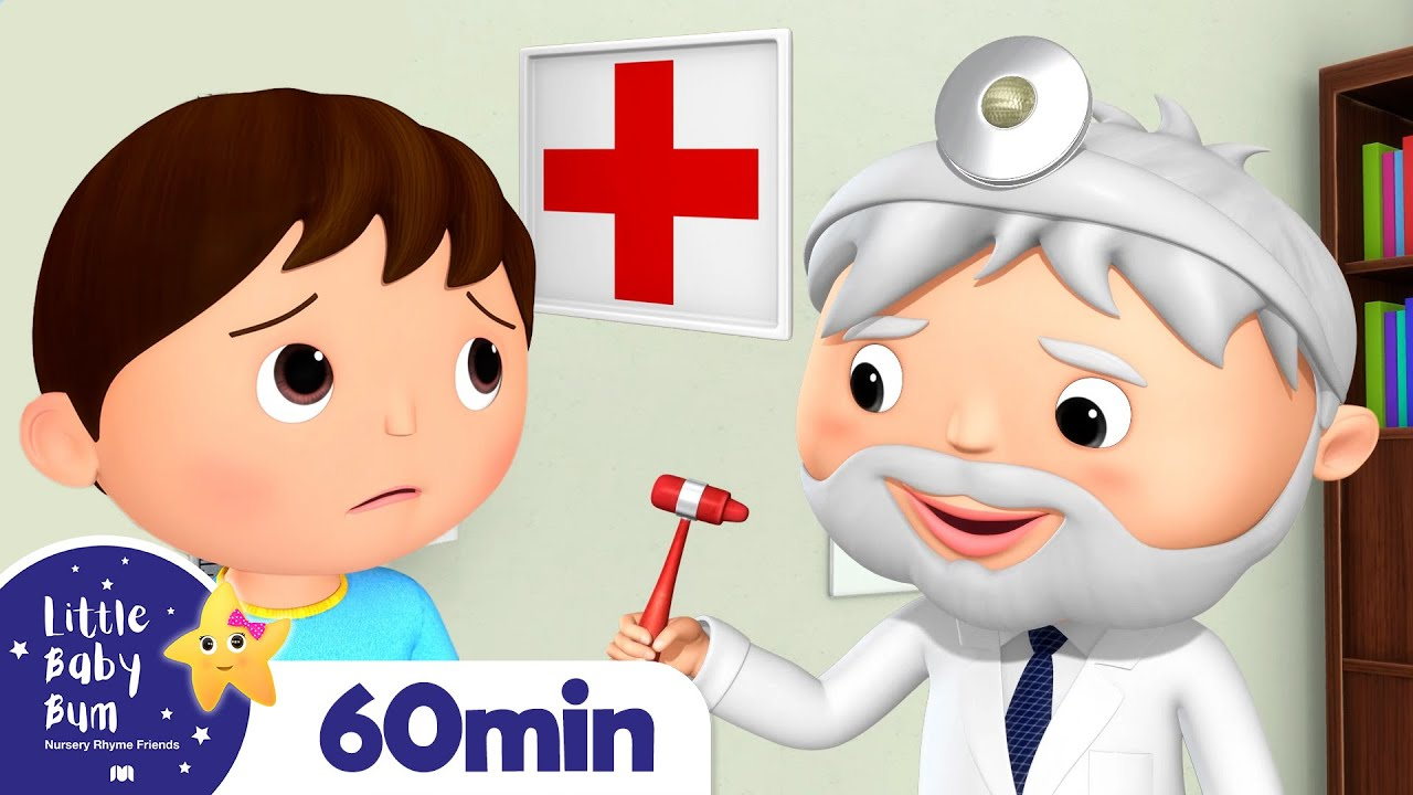 Going To The Doctors Song +More Nursery Rhymes and Kids Songs | Little Baby Bum