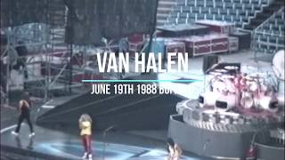 Van Halen Live in Buffalo Monsters of Rock June 19th 1988 16X9