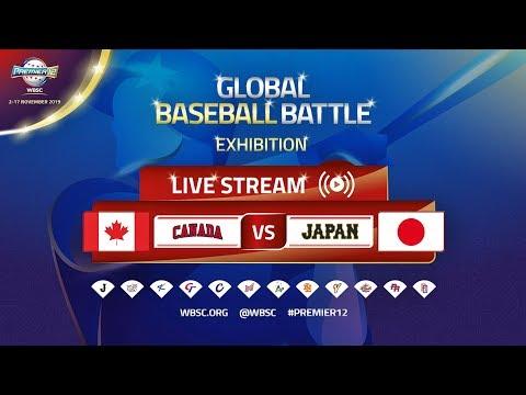 Canada v Japan – Exhibition – WBSC Premier12 2019