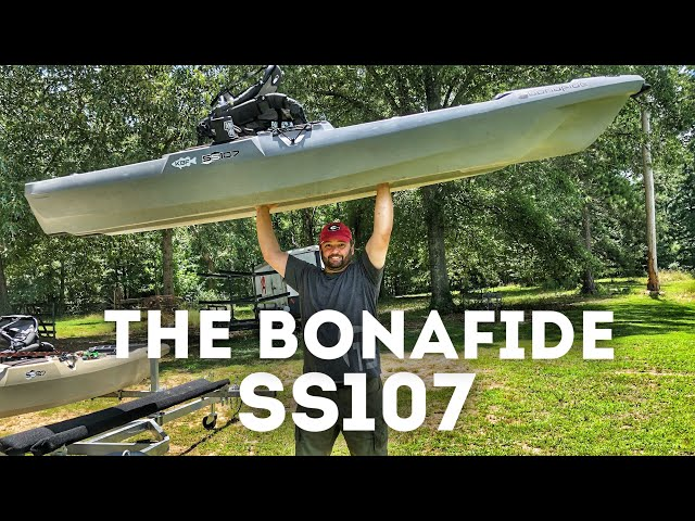 Introducing the Bonafide SS107 Fishing Kayak