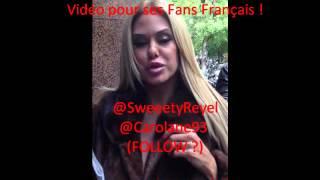 SHAUNA SAND (Geny G) Vidéo pour ses Fans Français! ;)