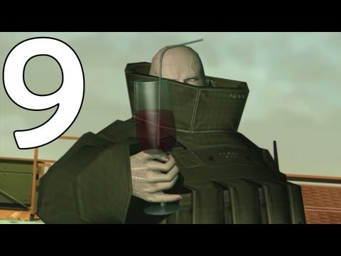 Metal Gear Solid 2 Walkthrough Part 9 - Fatman's Party (HD Remaster)