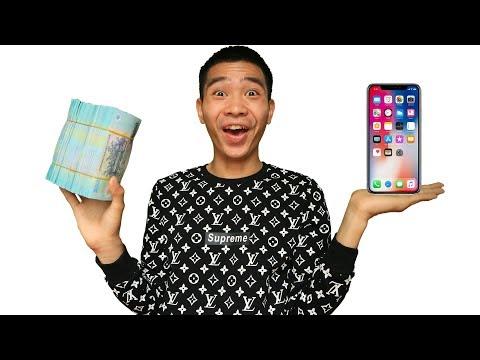 PHD   Vác 350 Triệu Đi Mua Điện Thoại   Bring 18.000$ To Buy The Phone