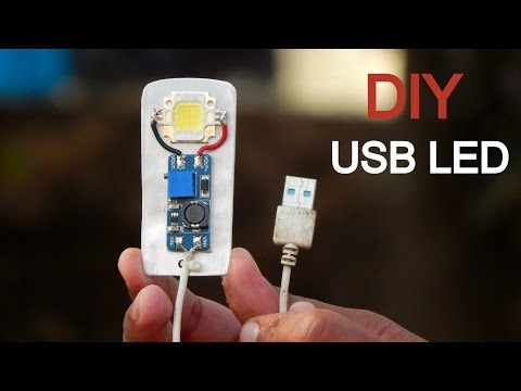 DIY USB Extreme Bright LED Light | LifeHack