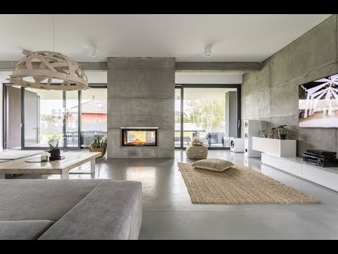 Exposed Concrete Interior Design 2019 - Industrial Designs