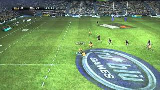 Rugby Challenge: Wallabies vs. All Blacks (Full Gameplay)