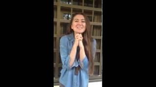 تركية تتكلم اللهجة الليبية :D