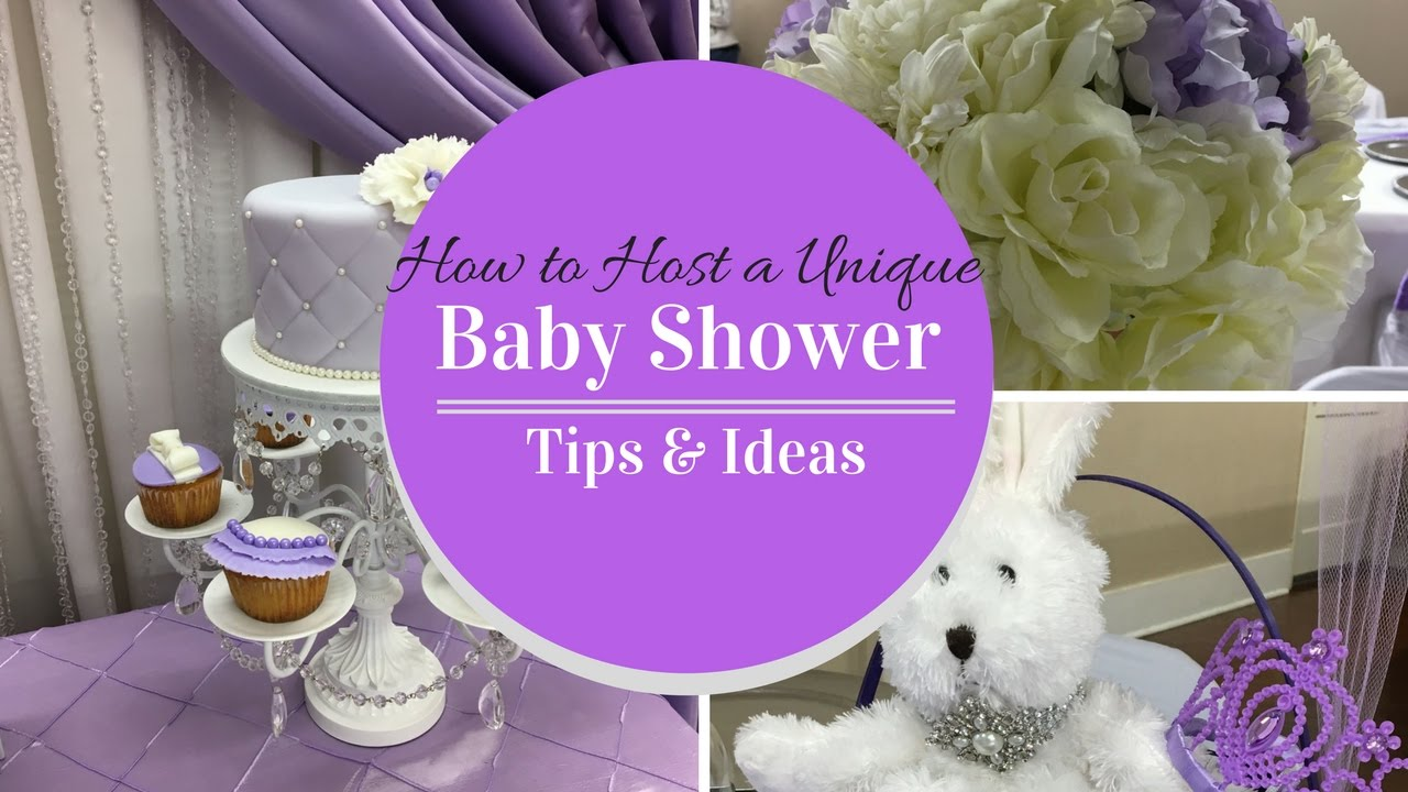 How To Host A Unique Baby Shower| Games|Food|Decor|Tips U0026 Ideas