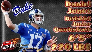 2019 NFL Draft Prospects 101 | Film Session | QB Daniel Jones