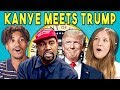 Download mp3 Teens React To Kanye West Meets Donald Trump (Memes/Oval Office Meeting) for free