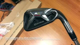 TaylorMade M2 6 Iron Unboxing  #takeM2outside