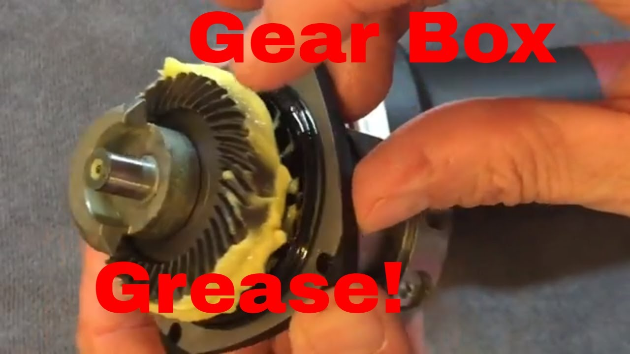 What I use to replace the factory grease in ALL polishers!!