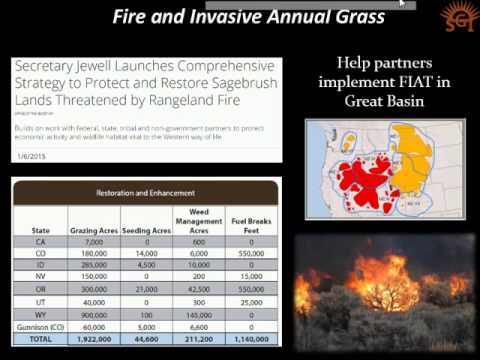 A Partnership-Based Investment Strategy | Sage Grouse Initiative 2.0 Webinar