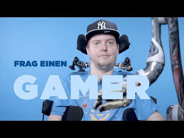 FRAG EINEN GAMER   Dennis über's Zocken ohne Hände