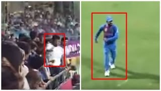 Virat Kohli DANCING DURING MATCH on GROUND, Funny Video