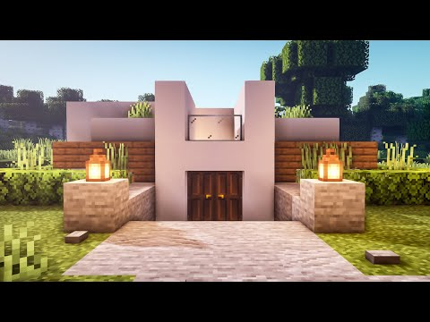 Minecraft: How To Build A Modern Starter House