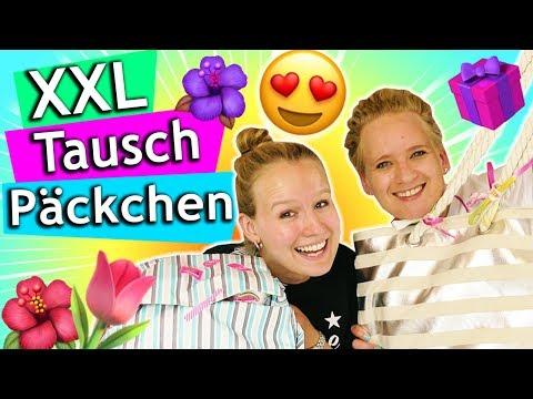XXL Tauschpaket für 20€ | MEGA Überraschungen für Kathi & Eva | Eva vs. Kathi Challenge #215
