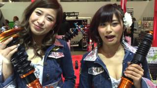 グラビアで大人気のやっさんこと安枝瞳ちゃんが東京オートサロン201...