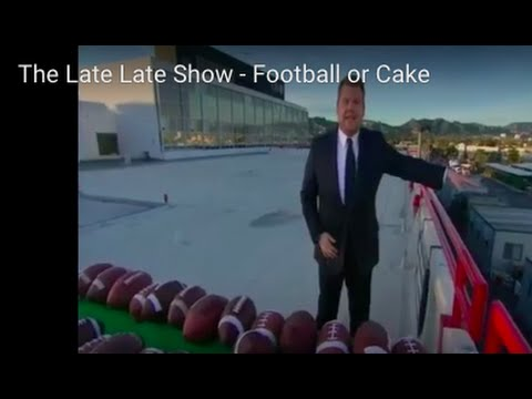 The Late Late Show - Football or Cake