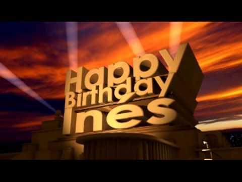 Happy Birthday Inés - YouTube