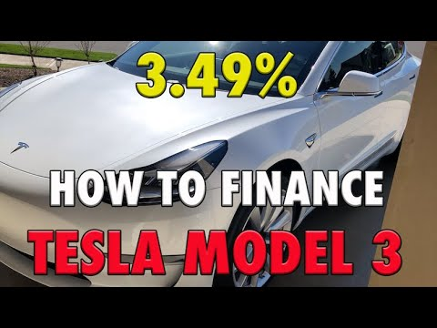 HOW TO FINANCE A TESLA MODEL 3 | I WILL SHOW YOU WHAT I DID