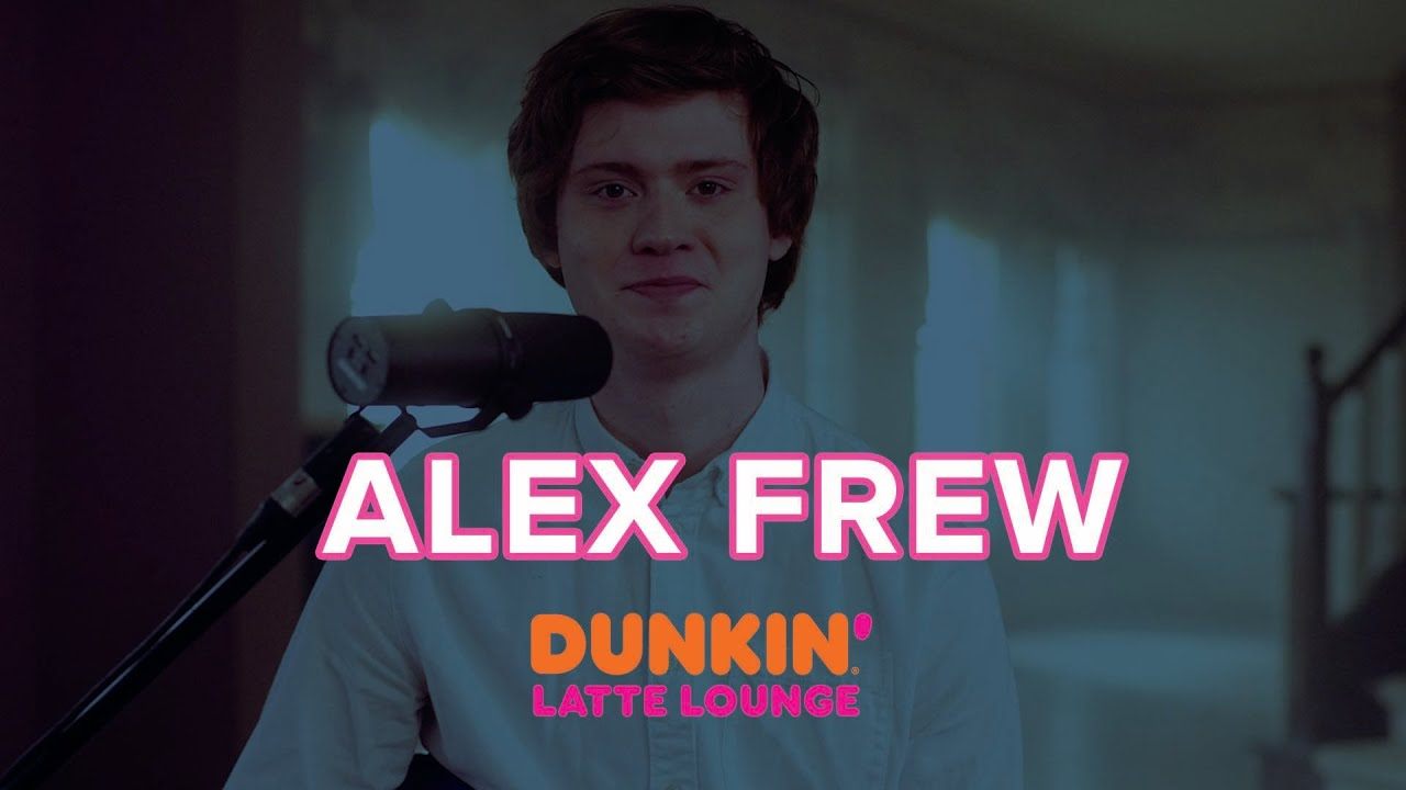 Alex Frew Performs At The Dunkin Latte Lounge