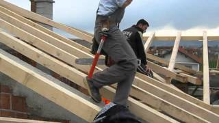 "Video during the construction of the new house in kosovo ""Sallagrazhdë"""